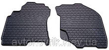 Резиновые передние коврики в салон Nissan X-Trail (T30) 2001-2007 (STINGRAY)