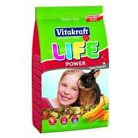 Vitacraft Life Power 600г - корм для кроликов с бананом  (25119)
