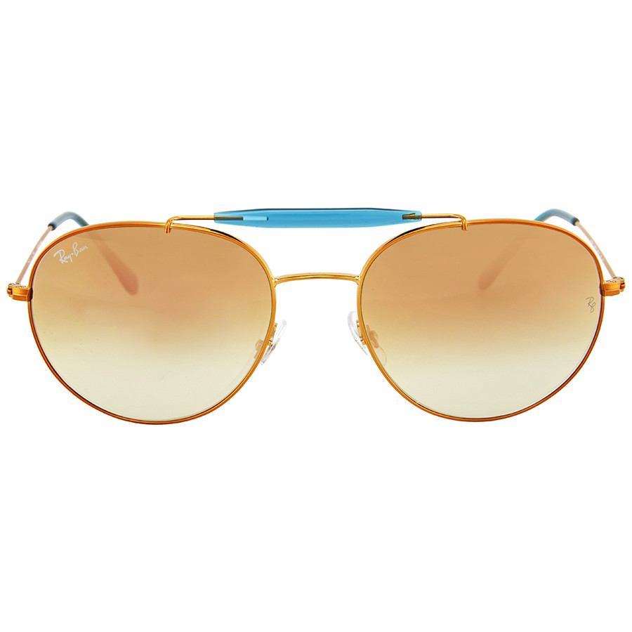 Солнцезащитные очки Ray-Ban Round Copper Gradient Flash RB35401987Y56