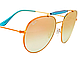 Солнцезащитные очки Ray-Ban Round Copper Gradient Flash RB35401987Y56, фото 3