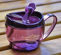 Чашка с крышкой-поилкой Mouldsure 550 мл.