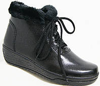 Ботинки женские зима большие размеры, женская обувь больших размеров от производителя модель М061И59К