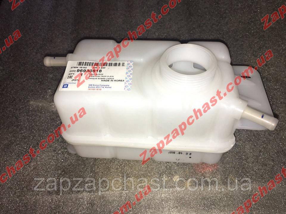 Бачок расширительный (ждающей жидкости) chevrolet Aveo Авео T 250 GM оригинал