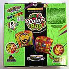 Клатч (пенал) раскраска My Color Bag Совы 2 21х21 см (mCOB-01-04), фото 2