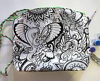Клатч (пенал) раскраска My Color Bag Феи 21х21 см (mCOB-01-05)