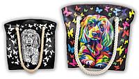 Сумка раскраска My Color Bag Собака 32х37 см (COB-01-01)