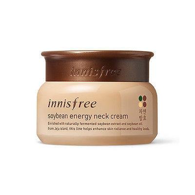Innisfree Soybean Energy Neck Cream Увлажняющий крем для шеи с бобами сои