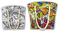 Сумка раскраска My Color Bag Бабочки 32х37 см (COB-01-03)