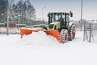 Поворотный отвал для снега на трактор (гидравлика, евро, многопозиционный)