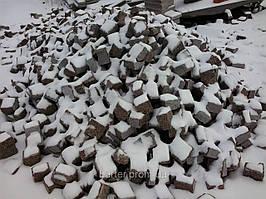 Производство Брусчатки гранитной 10*10*10