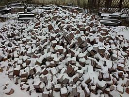 Производство Брусчатки гранитной  5*5*5