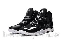 Мужские баскетбольные кроссовки Adidas Rose 7 (Black/White)