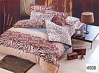 Комплект постельного белья ELWAY евро 4008 сатин