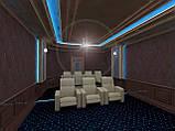 Дизайн домашнього кінотеатру. Дизайн кінозалу., фото 2