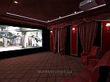 Дизайн домашнього кінотеатру. Дизайн кінозалу., фото 3