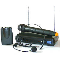 Вокальная радиосистема UKC EW 500 с микрофоном и гарнитурой