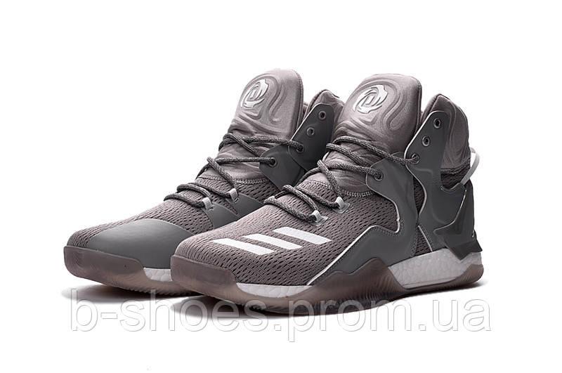 Мужские баскетбольные кроссовки Adidas Rose 7 (Grey)