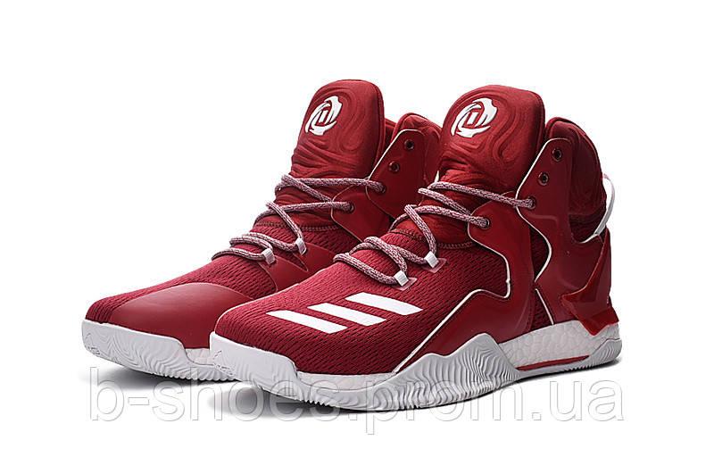 Мужские баскетбольные кроссовки Adidas Rose 7 (Red/White)