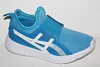 Детские кроссовки оптом.Спортивная обувь для подростков от фирмы EEB.B A316 l.blue (8пар 31-36)