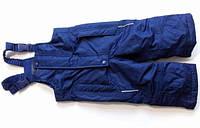 Зимние детские лыжные комбинезон брюки на девочку для мальчика рост 74