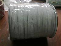 Резинка  трикотажная 5мм.белая (100м) китай
