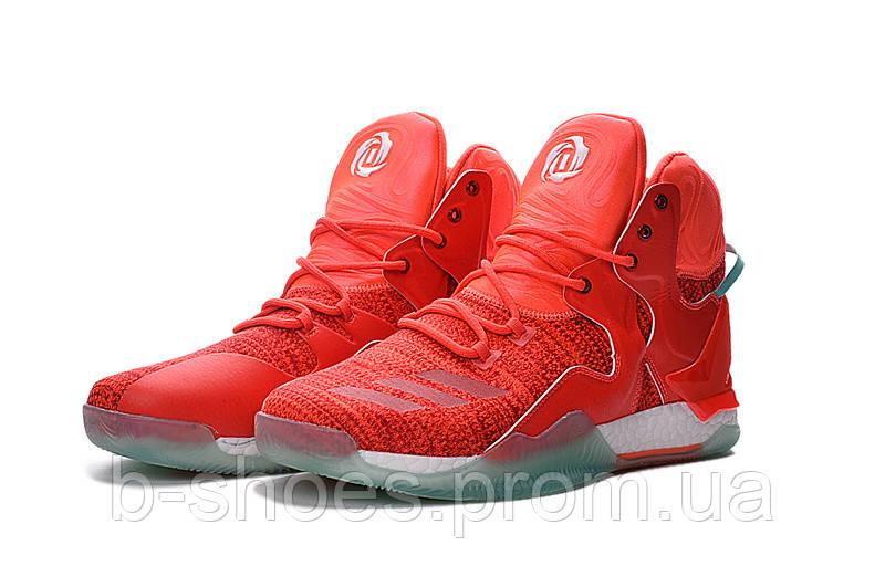 Мужские баскетбольные кроссовки Adidas Rose 7 (Coral)