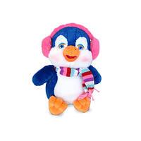 Мягкая игрушка «LAVA» (LF1109) пингвин в наушниках, 23 см (звук. эффекты)