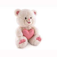 Мягкая игрушка «LAVA» (LF999) медведь с блестящим сердцем, 20 см (звук. эффекты)