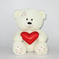 Мягкая игрушка «LAVA» (LA8546E) медвежонок Масик с сердцем, 17,5 см (звук. эффекты)