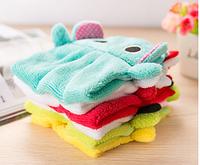 """Детское полотенце для рук из микрофибры """"Зверушка мини"""""""