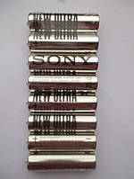 Батарейка солевая SONY R6 AA 1,5V, ПАЛЕЦ