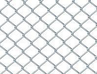 Сетка Рабица, Ячейка 60х60, Диаметр 1.8, Рулон 1.5х10 Чёрная