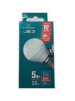 Светодиодная лампа G45 5Вт Е14Titanum 4100k