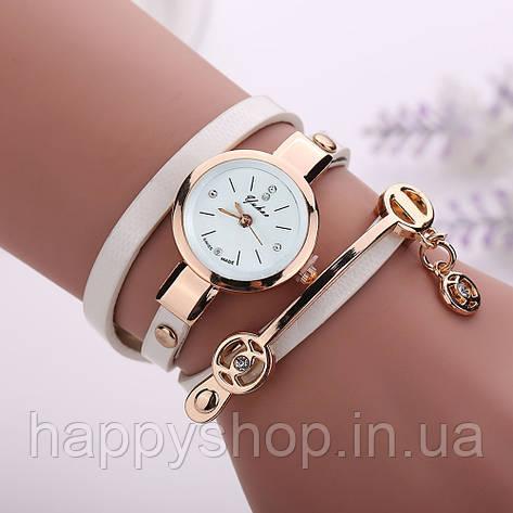 4ab0ca48 Купить Женские часы-браслет на длинном ремешке (белые) в Украине от ...