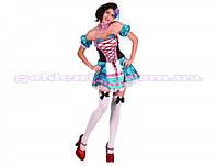 Карнавальный костюм Баварская девушка, р-р S/M, в пакете (24шт)