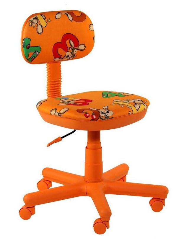 Кресло Свити оранжевый Зайцы оранжевые.
