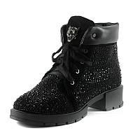 Ботинки зимние женские Foletti 338 черные