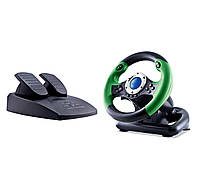 Руль SVEN DRIFT c педалями, Dual vibration, 10 дополнительных кнопок