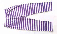 Велюровые штаники в полоску для девочки штаны на девочку теплые рост 140, фото 1
