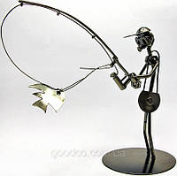 "Техно-арт статуэтка ""Спиннингист"""