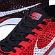 Мужские кроссовки  Nike Flyknit Racer University Red, фото 4