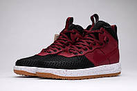 Кроссовки  NIKE LUNAR FORCE 1 DUCKBOOT (Black/White/Red), фото 1