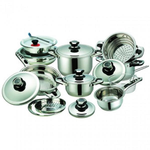 Набор посуды 21 пр Maestro MR 3503