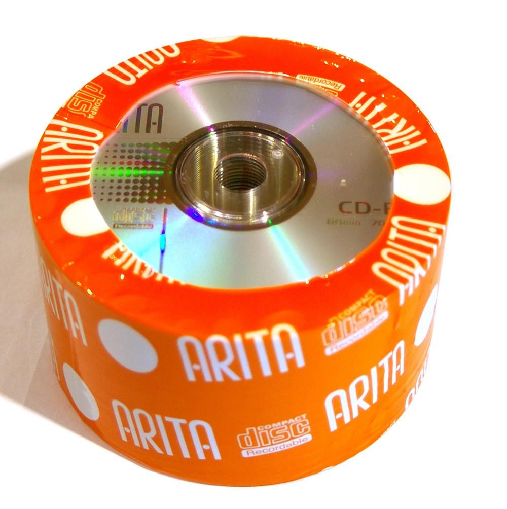 Диск CD-R 50 шт. Arita, 700Mb, 52x, Bulk Box