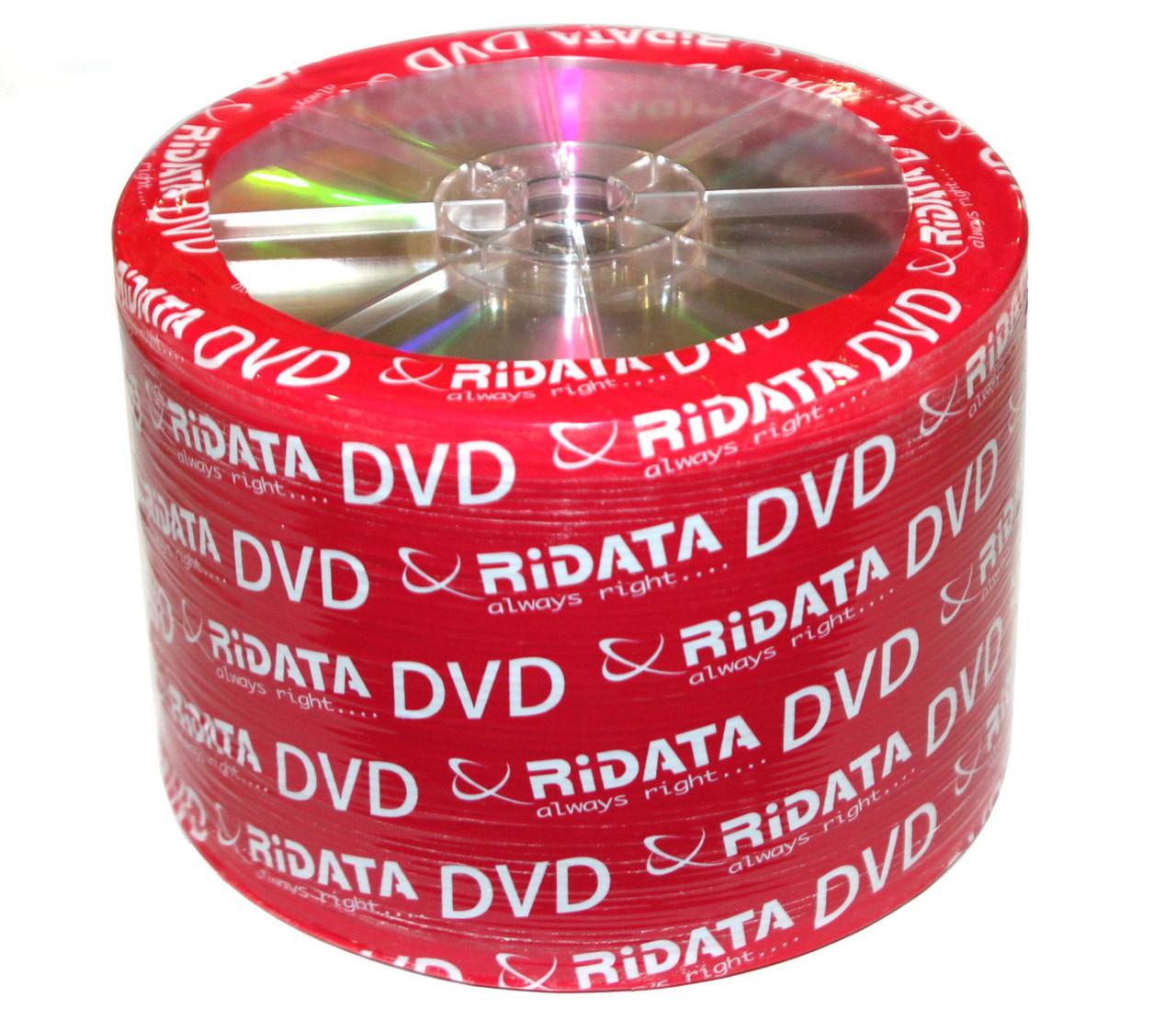 Диск CD-R 50 шт. Ridata, 700Mb, 52x, Printable