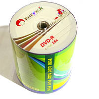 Диск DVD-R 100 шт. Datex, 4.7Gb, 16x, Bulk Box