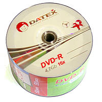 Диск DVD-R 50 шт. Datex, 4.7Gb, 16x, Football