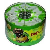 Диск DVD-R 50 шт. Kaktuz, 4.7Gb, 16x, Bulk Box