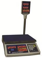Торговые весыВТД-6РС,  електронні Ваги торгові ВТД-6РС  6 кг