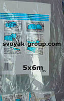 """Тент """"Grey"""" 100g\m2 (Украина) 5х6м. Полипропиленовый ( тарпаулиновый ) ламинированный с кольцами."""